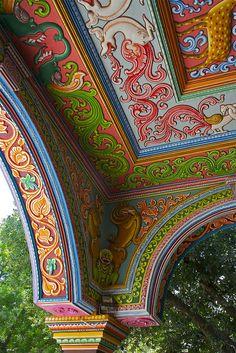 Colorful India.Thanjavur, India. via jiminius  on Flickr