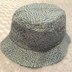 c36cb1b8 KBETHOS BUCKET HAT ELEPHANT PRINT JUMPMAN HARBOR BLUE 23 ONE SIZE NWOT # fashion #clothing #shoes #accessories #mensaccessories #hats (ebay link)