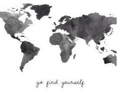 go find yourself | via Tumblr