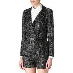 HOLMES & YANG Lace jacket at #Selfridges http://rstyle.me/n/ukm9m9fe #androgynous #fashion