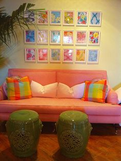i love lilly- and every decor item pictured.