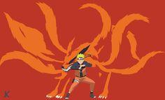 Naruto and Kurama by Kiisu-kun on DeviantArt