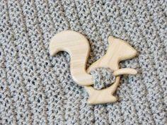 Unique gift Wooden squirrel shawl pin Shawl stick Sweater