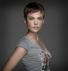 Very Short Pixie Haircut for Fine Hair Click the image now for more info. Very Short Pixie Cuts, Pixie Cut With Bangs, Very Short Hair, Short Hair Cuts, Short Hair Styles, Pixie Haircut Styles, Short Pixie Haircuts, Pixie Hairstyles, Cool Hairstyles