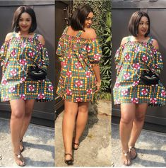 is an African fashion and lifestyle website that showcase trendy styles and designs, beauty, health, hairstyles, asoebi and latest ankara styles. Latest Ankara Dresses, Short African Dresses, Ankara Dress Styles, Latest Ankara Styles, Latest African Fashion Dresses, African Print Dresses, African Print Fashion, Africa Fashion, Ankara Skirt And Blouse