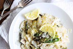 groene asperge pasta