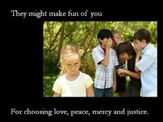 Blest Are They - The Beatitudes - this is a BEAUTIFUL video the explains each one's meaning, illustrates each one through photos, and reminds us about the happiness to which Jesus truly calls us