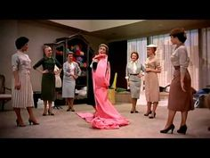 """FUNNY FACE """"Think Pink"""" scene. I was forced to watched this movie - and I enjoyed it - but THIS song is so funny - because of the end - my view of fashion"""