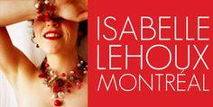 Isabelle Lehoux Montréal - Ensemble Bijoux Royal multi perles Burgundy Isabelle, Celine, Bracelets, Designers, Burgundy, Royal Jewelry, Handcrafted Jewelry, Silver Color, Beads
