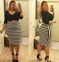 Women S Plus Size Peplum Dresses Fall Night Outfit, Night Outfits, Fall Outfits, Curvy Women Fashion, Look Fashion, Fashion Outfits, Fashion Beauty, Plus Size Looks, Look Plus