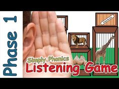 Zoo Animal Sounds Listening Game - Phase 1 Phonics Listening skills can be difficult to master for many children. Help children develop their listening skill. Zoo Phonics, Jolly Phonics, Phonics Activities, Listening Games, Listening Skills, Rhythm Games, Phase 1 Phonics, Dear Zoo, In The Zoo