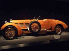 1924 Hispano Suiza Torpedo - Located at the Black Hawk Museum in Danville Ca. Defo worth a look. THe body is Tulip wood.