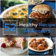 Cozy comfort food without the extra calories! 52 Healthy #Recipe Makeovers | Health.com  Your hard workouts won't go to waste!