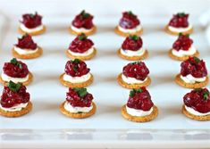 Easy holiday appetizer: Cranberry Cream Cheese and Dijon Appetizer