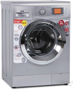Ease of your everyday washing chore, the easy and smart way, with the IFB 7 Kg Elite Aqua SX front loading washing machine. The silver washing machine comes with 7 kg load capacity and various temperature options like 95, 60, 40 and 30 degree Celsius...