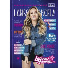 1a6ff7b83e07c Caderno Brochura Capa Dura Top Universitário Larissa Manoela - 80 Folhas   larissamanoela  cadernostilibra