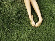 Oh i love laying in grass with my bare feet.   ready • alana k. davis