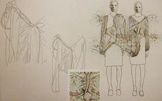 My gender neutral fashion and textile print design.