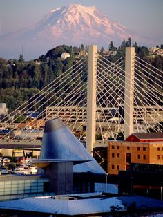 """Tacoma, Washington: August 2011 """"See if you can squish all the OBVIOUS things into this photo, leave out the dome though, that's just lame."""""""