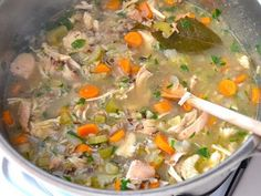 Chicken Vegetable Soup With Rice - Dr. Mark Hyman