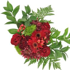 FiftyFlowers.com - Red Classic Wedding Centerpieces