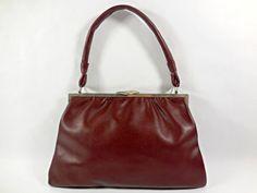 Nice French Vintage handbag/shoulder bag 1950's by VintagetoFrance