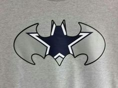 What a great way to show off your favorite NFL football team, the Dallas Cowboys! Great looking superhero inspired t-shirt available in mens and