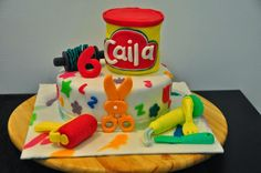 Glimpses of Pam: A Play-Doh Themed Birthday Party