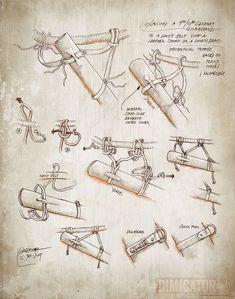 Dimicator is creating Illustration, Articles & Videos on historical swordsmanship - Historical Clothing Iron Age, Larp, Sword Belt, Viking Reenactment, Viking Sword, Viking Dress, Landsknecht, Early Middle Ages, Viking Age