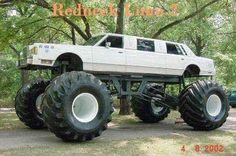 Another Red Neck Limo........climb up the wheels to get in....don't dirty your clothes