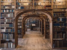 Baroque House / Neißstraße - Historical Library Hall from Görlitz / Saxony by jn Library Room, Dream Library, Closet Library, Magical Library, Cozy Library, Library Art, Vintage Library, Reading Library, Library Images