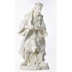 "39"" Scale White Praising King Figure (39"")"
