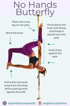 Pole Fitness Moves, Pole Dance Moves, Pole Dancing Fitness, Dance Tips, Pole Classes, Pole Sport, Dancer Workout, Pole Tricks, Plein Air