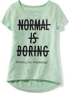 Girls Licensed Marilyn Monroe™ Tee