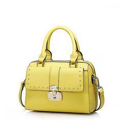 Praktyczna, modna torebka damska Żółta w sklepie Galanteria Skórzana dlaKazdego.net