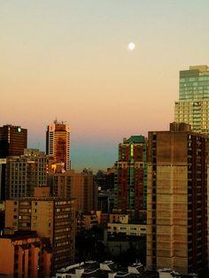 Vancouver Full Moon by PiscesDreamer, via Flickr