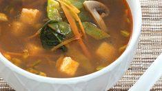 Мисо-суп с овощами и тофу