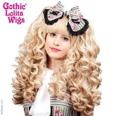 Gothic Lolita Wigs® <br> Baby Dollight™ Collection - Crème de la Crème -00007