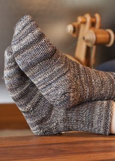 toe up socks patterns!  Knit both at the same time with the magic loop method on a long cable needle.  :-D