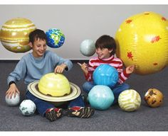 Sonnensystem zum Aufblasen 11-tlg-1