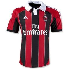 Wider stripes :) Introducing the all new AC Milan 2012/13 Home Jersey Kit!