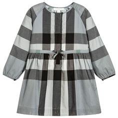 56895906e75 Burberry - Girls Blue Check Agnes Dress