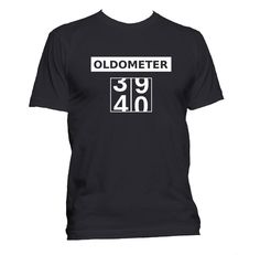 Birthday t shirt 40th Birthday T-shirt t shirt by HappyInkTShirts