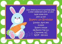 Easter birthday party invitations merry christmas and happy new easter birthday party invitations filmwisefo