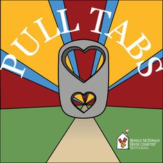 Collecting pull-tabs is an excellent way to raise awareness about Ronald McDonald House Charities and they help families whom we help.