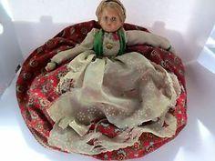 "16"" Antique Composition Cloth Tea Cozy Doll Eastern Europe   eBay"