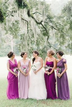 wild berry, radiant orchid, suede rose... ALSO SPANISH MOSS, GUYS.