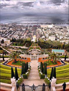 The Baha'i Gardens in Haifa, Israel | by Asiacamera