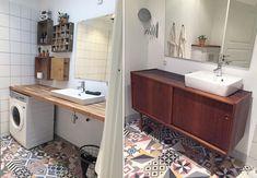 Lise og Michael fra Nybyggerne 2016 vandt deres retro-drømmehus. Se her, hvordan du får deres skønne badeværelsesstil.