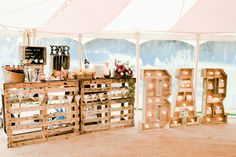 Outdoorsy Late Summer Marquee Wedding Ideas - All For Decoration Marquee Letters, Marquee Lights, Light Letters, Country Wedding Photos, Country Barn Weddings, Western Weddings, Cowboy Weddings, Outdoor Tent Wedding, Outside Wedding